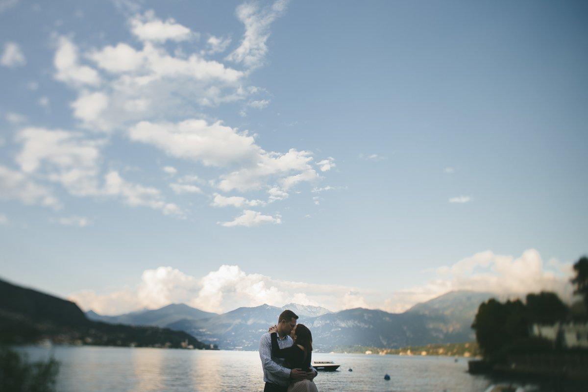 lake como pre wedding photographer lenno
