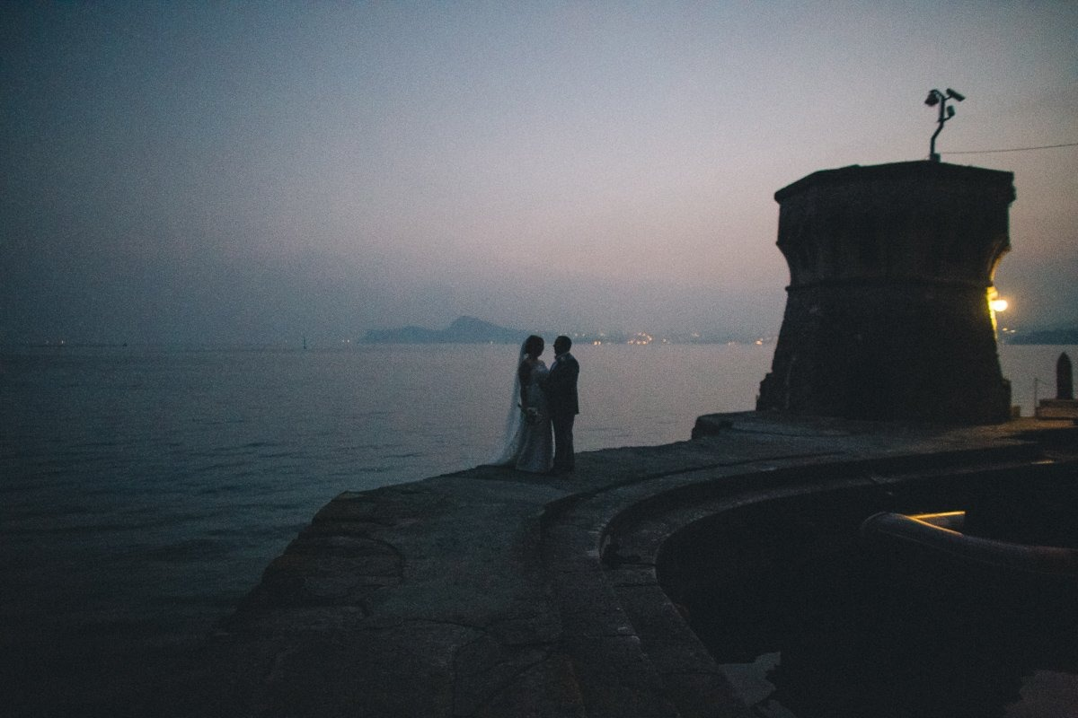 Lake Garda destination wedding photographer. Wedding photographer in Italy
