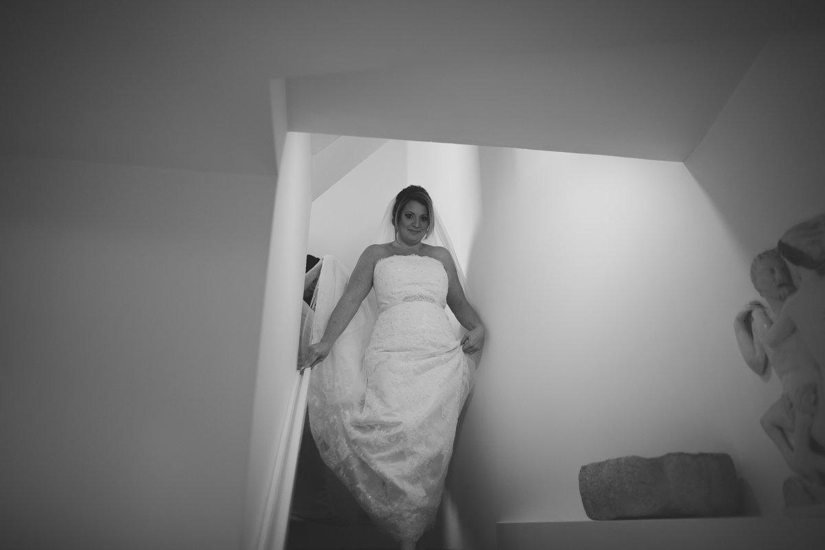 Destination wedding in Lake Garda. Bride is ready. Italian lakes wedding photographer
