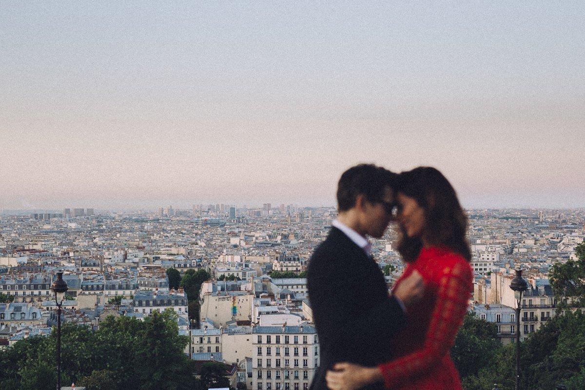 paris montmartre wedding photographer