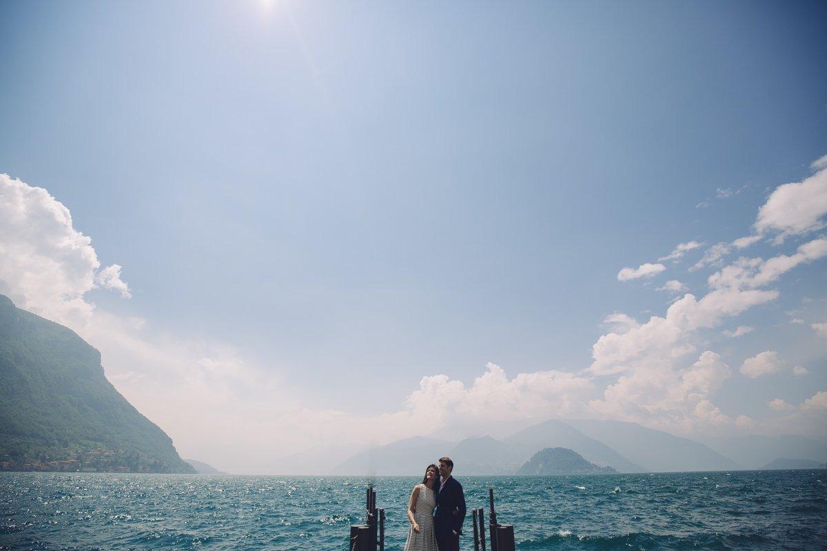 varenna como lake pre wedding photographer