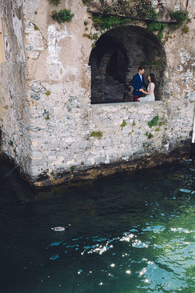 Lake Como engagement shooting. Varenna Wedding photographer