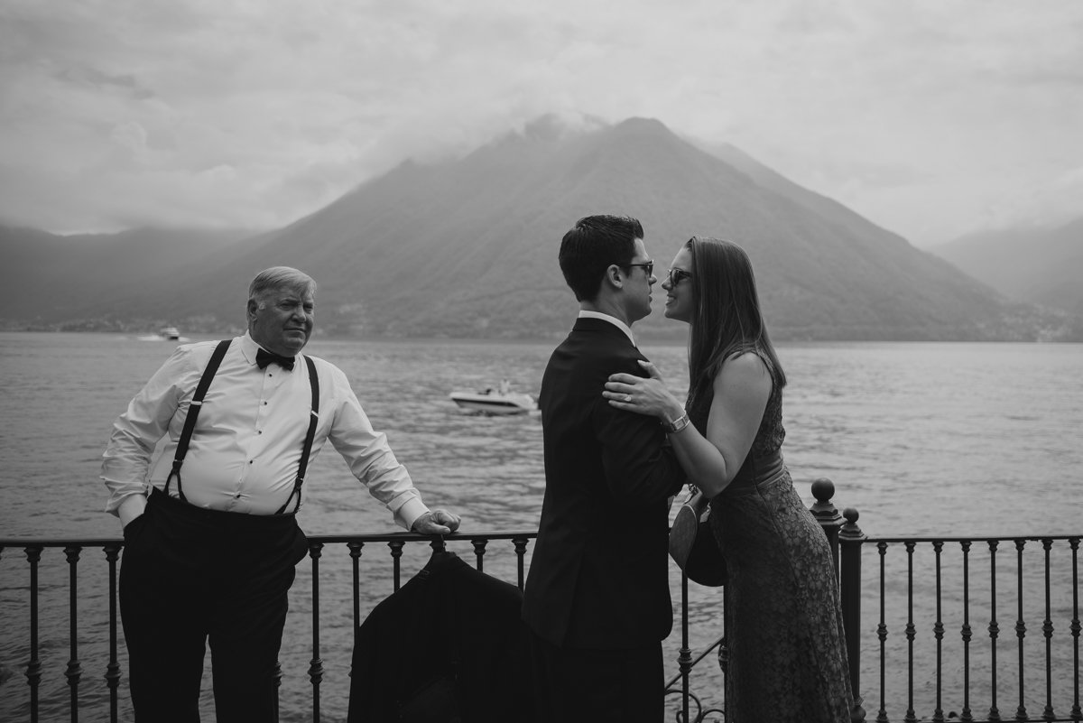 Italian wedding photographer. Villa Balbianelli Venue in Lake Como