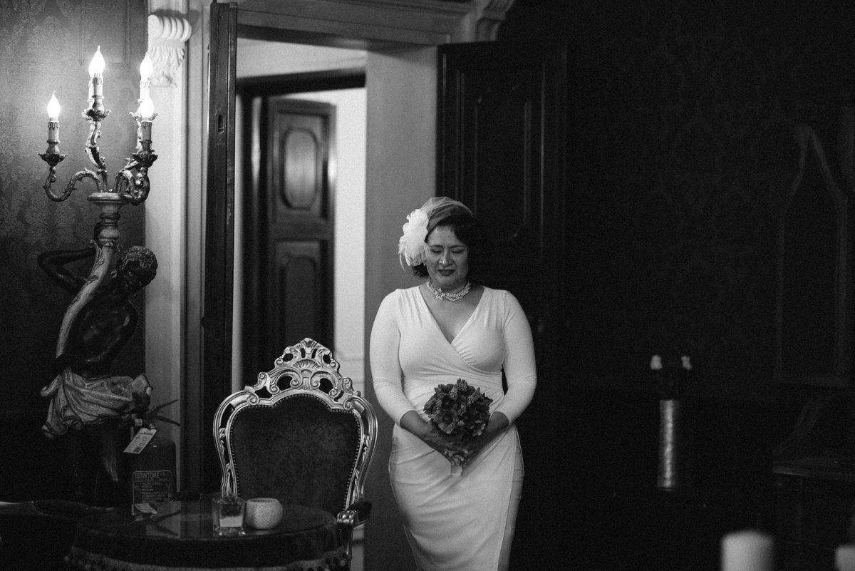 Destination Wedding photographer Venice. Bride in Palazzo Paruta