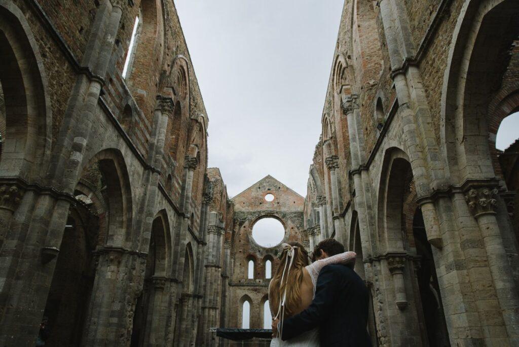 San Galgano wedding photographer creation