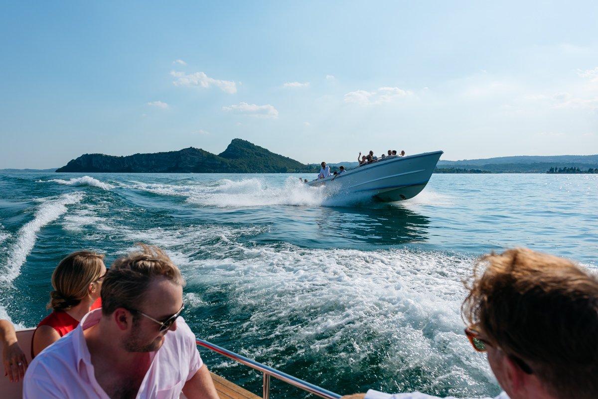 Destination wedding in Lake Garda.