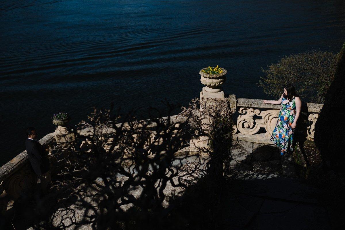 wedding proposal on lake como