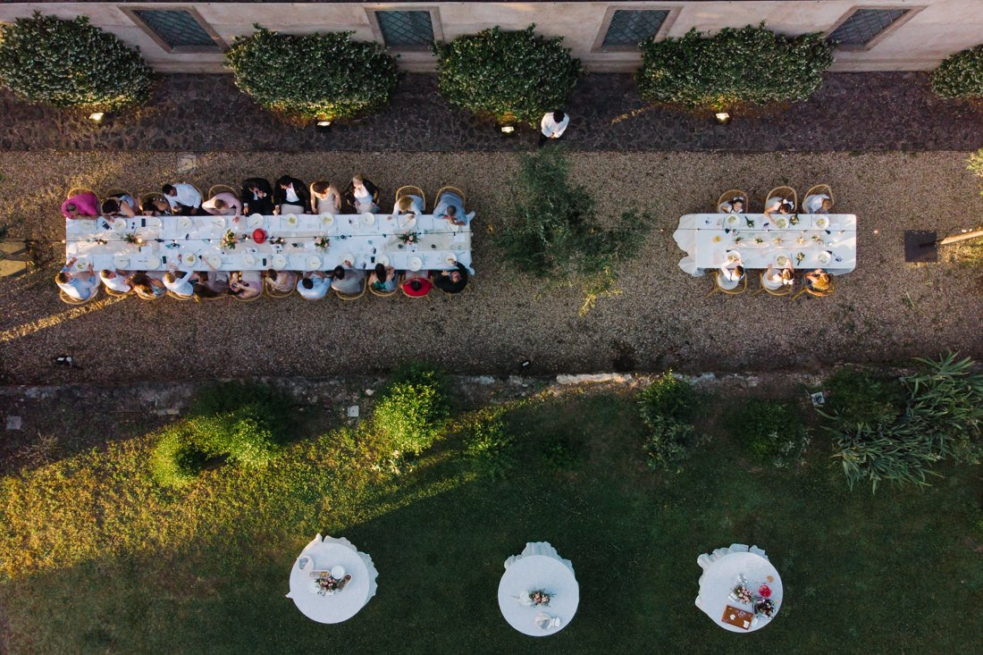 Wedding Video at Casale del Gallo Rome. Wedding party