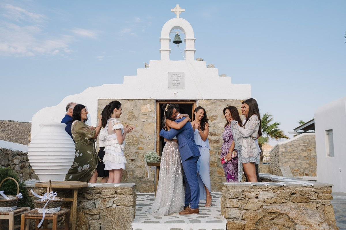 wedding in mykonos