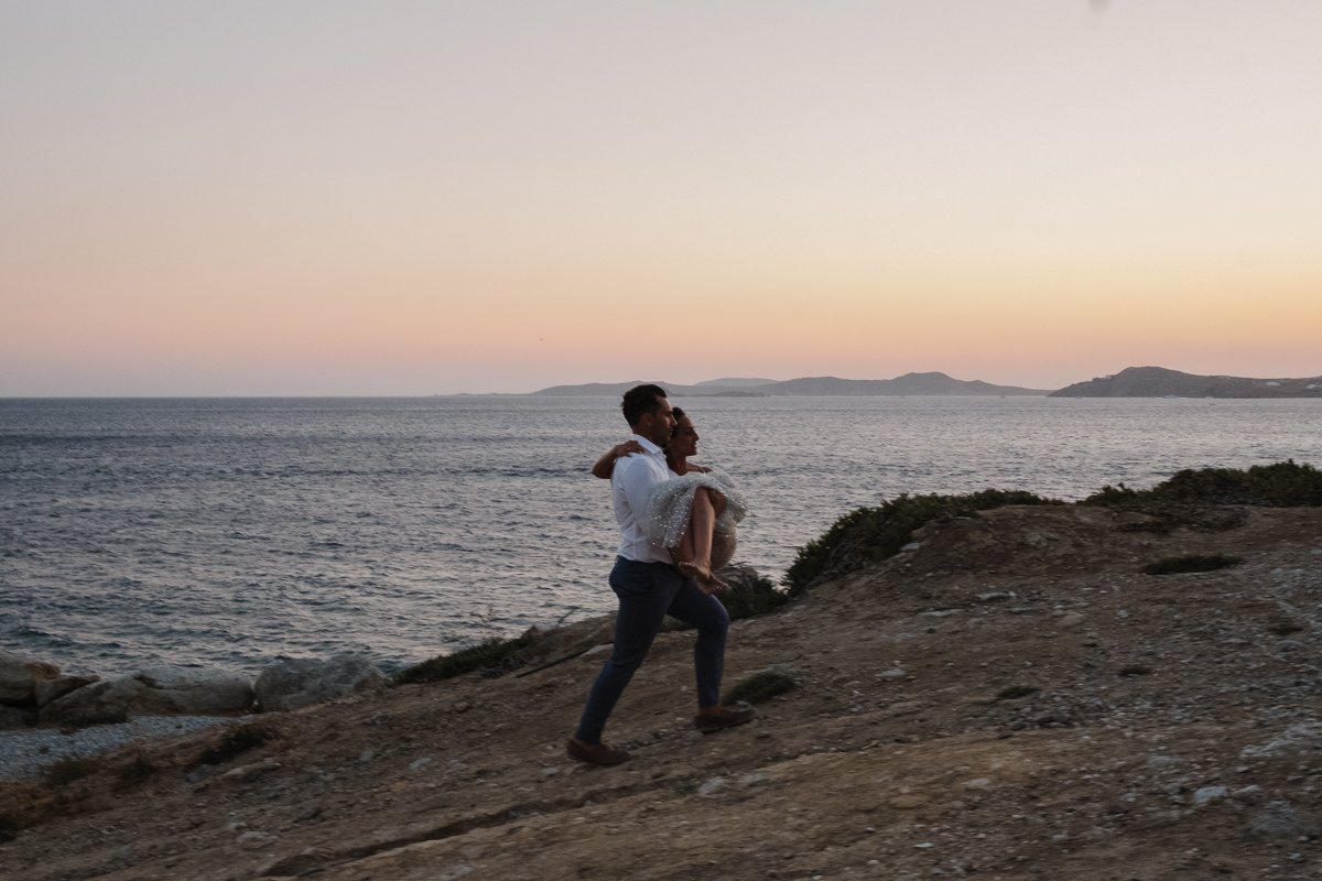 Destination Wedding Videographer & photographer in Mykonos, Greece