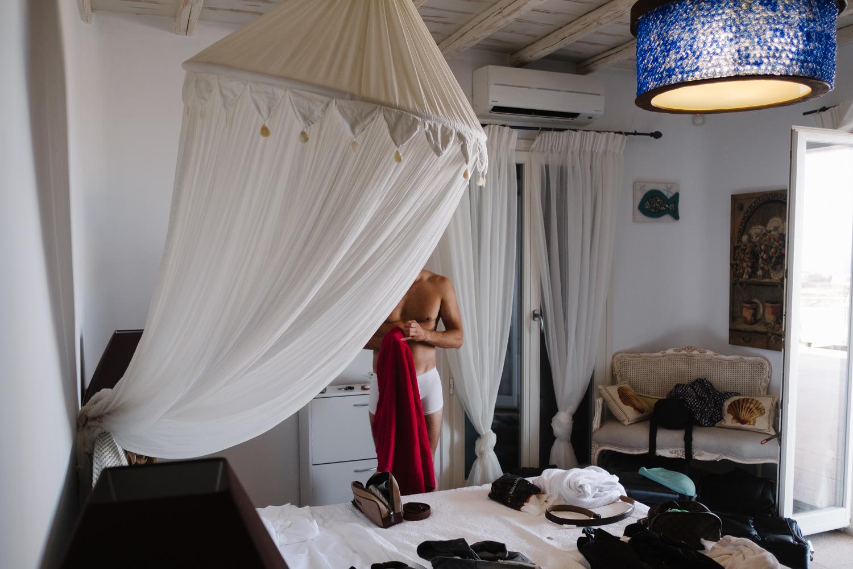 Destination Wedding photographer in Greece, Mykonos.