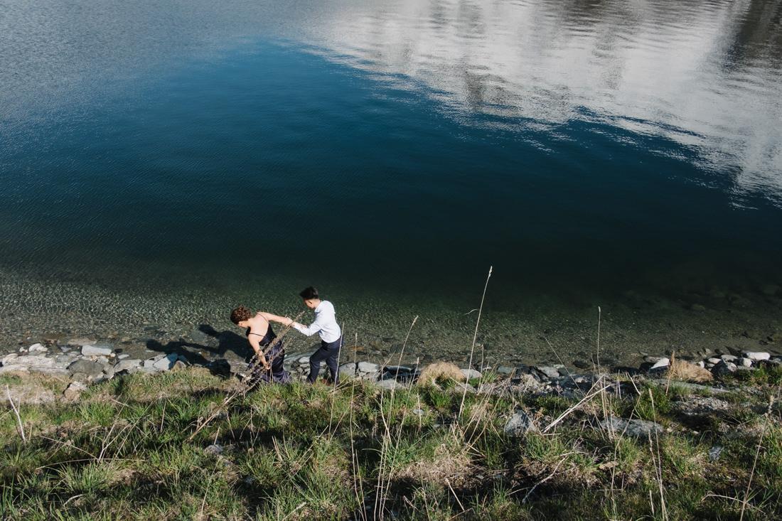 Engagement photo session in Switzerland