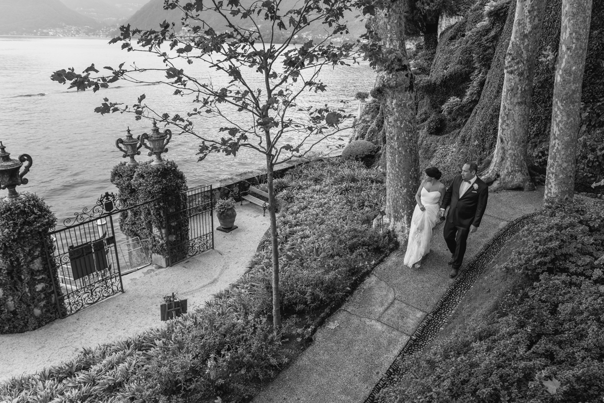 Villa Balbianello Lake Como wedding photographer and videographer