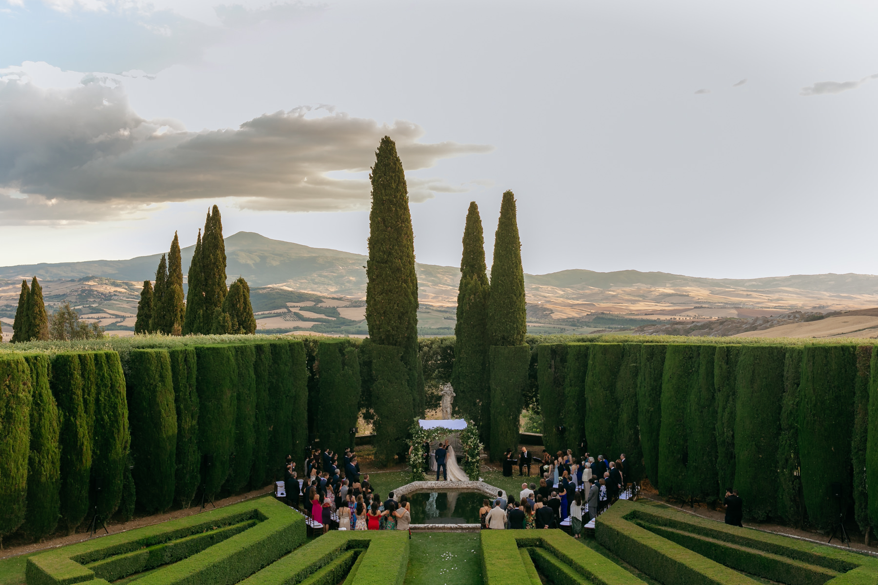 la foce wedding