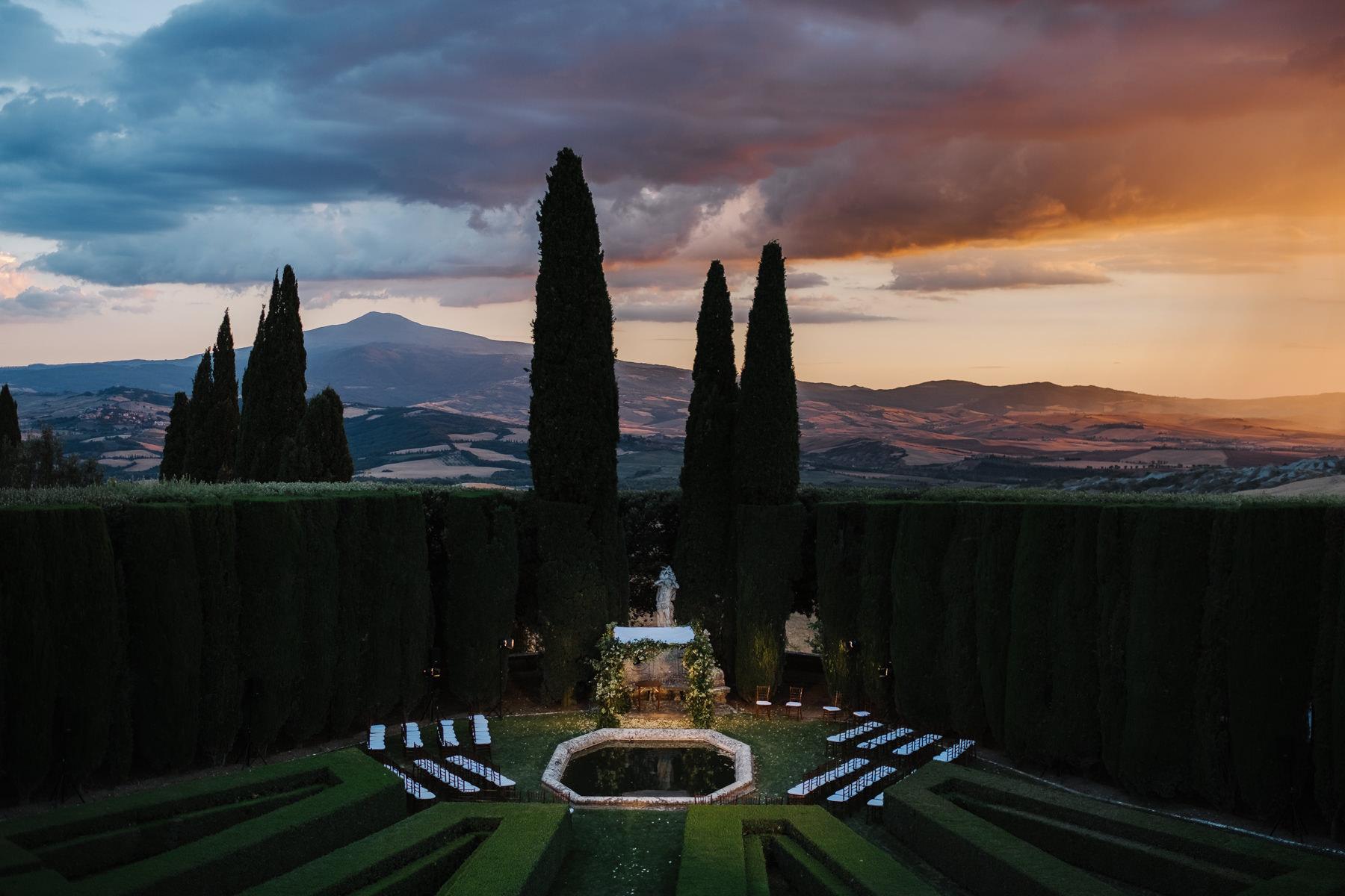 spectacular wedding venue in Italy