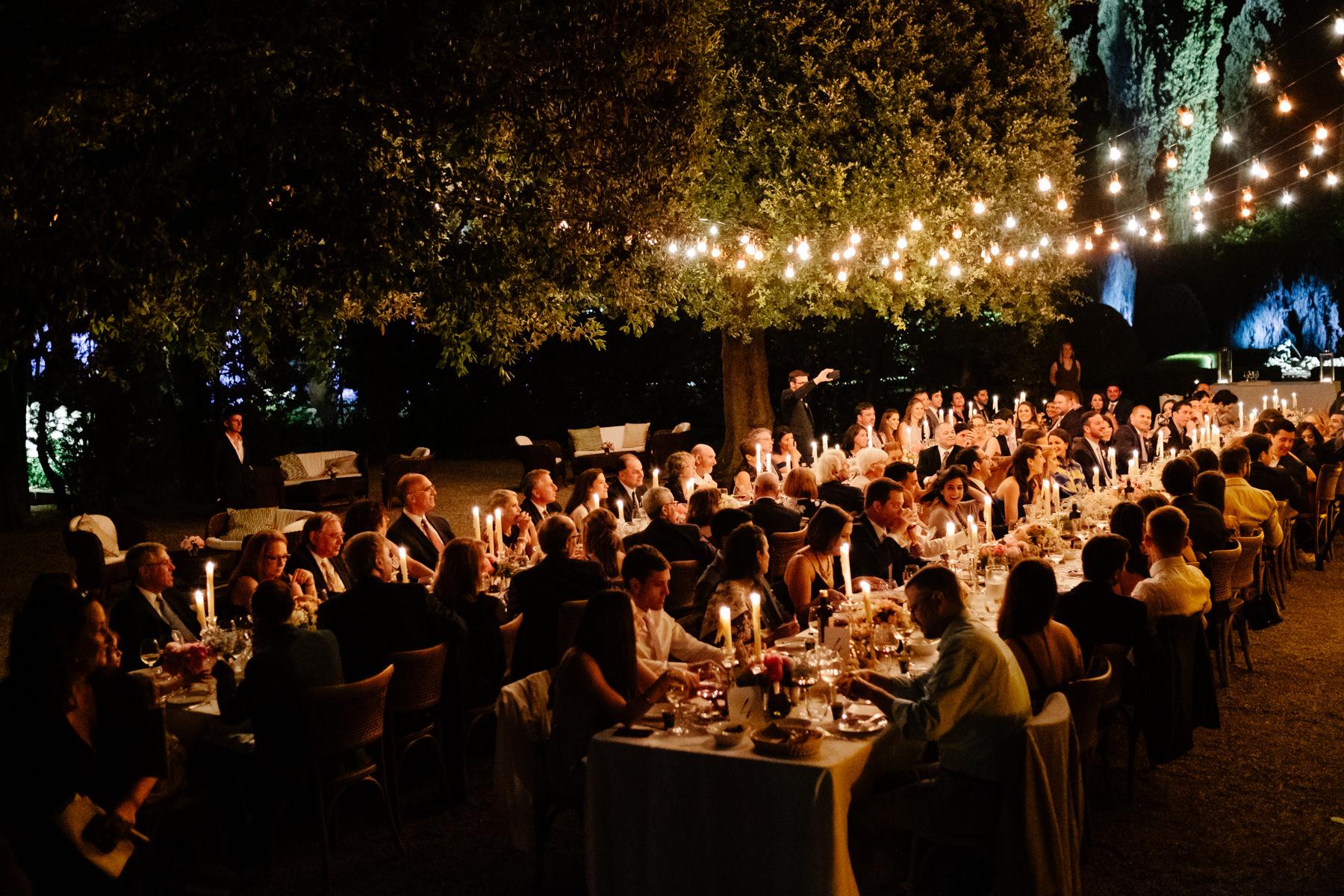wedding reception ideas in Tuscany at a wedding
