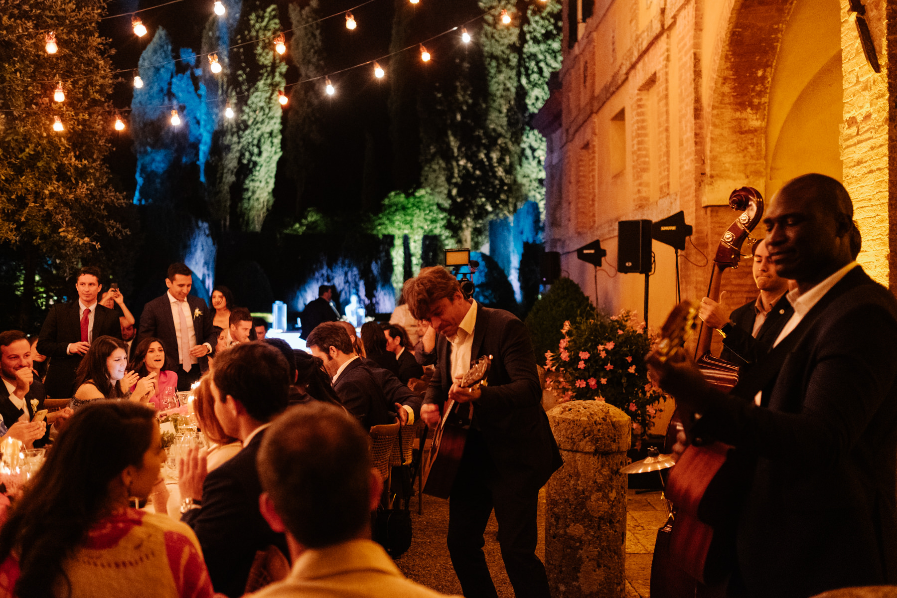 musician ideas at a wedding in Italy