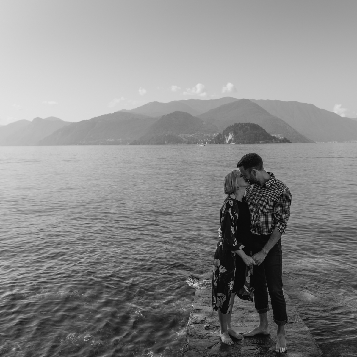 pre wedding photos lake como