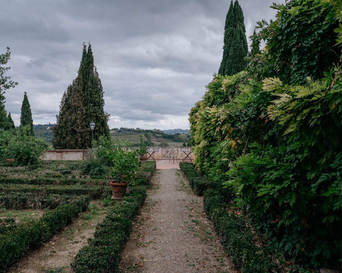 tuscany the perfect setting for a wedding even with the clouds