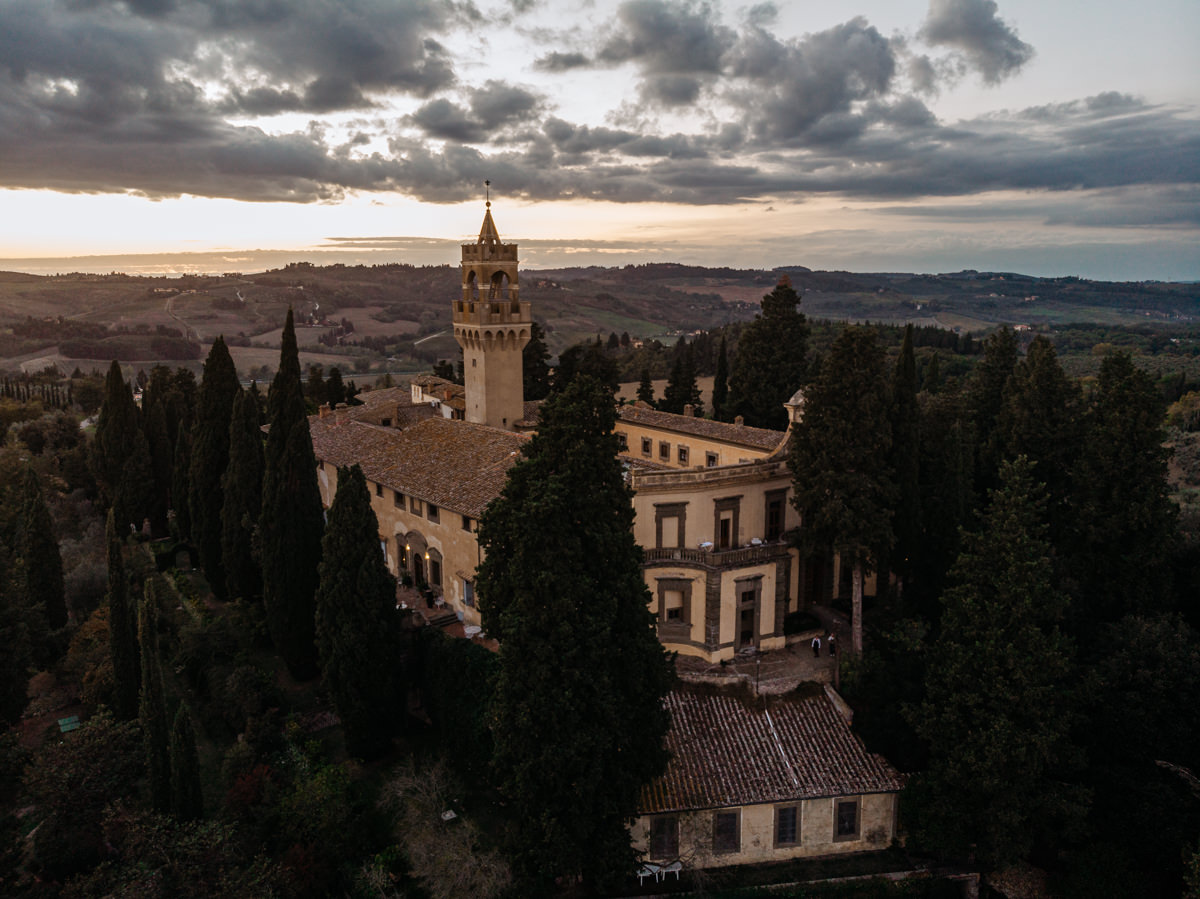 drone photography in italy