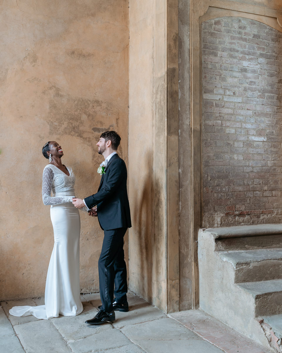 getting married at castello di montegufoni