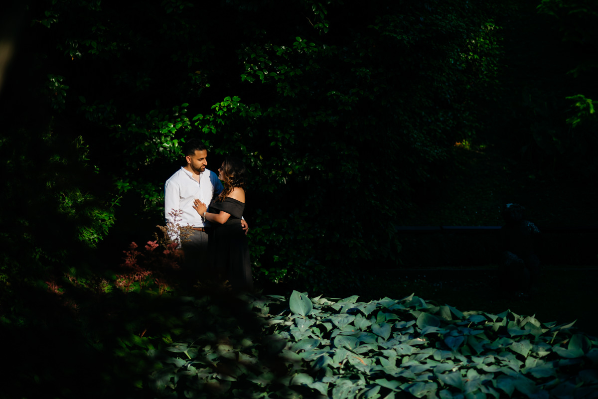 creative pre-wedding session in italy