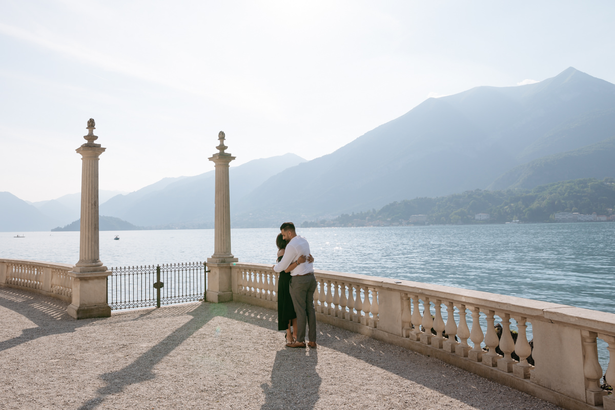 romantic places where to propose in italy on Lake Como