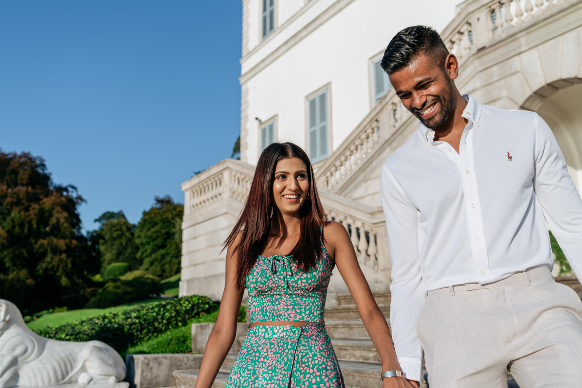 Villa Melzi couple session