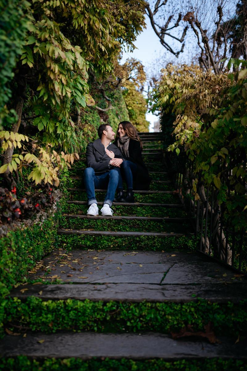 autumn proposal Lake Como