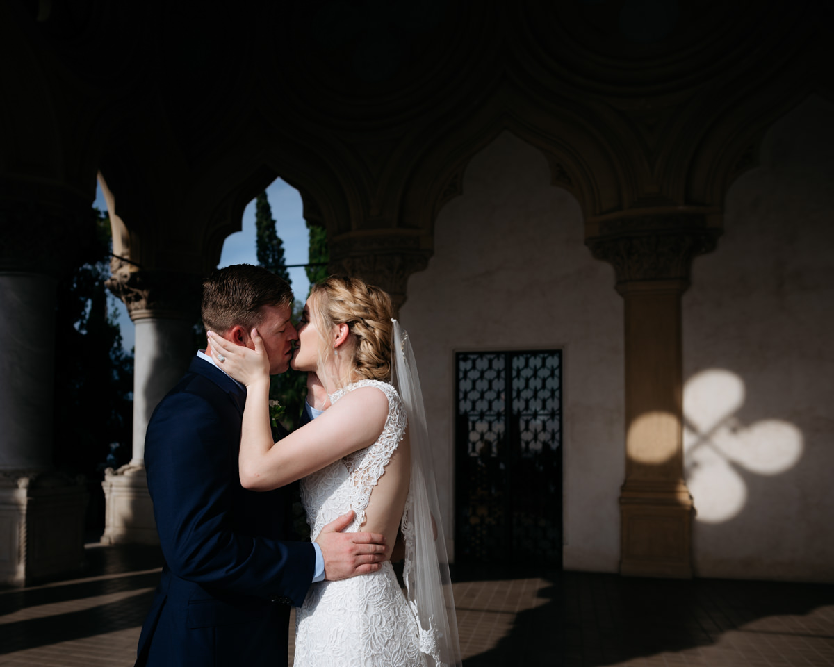 couple portrait wedding Lake Garda