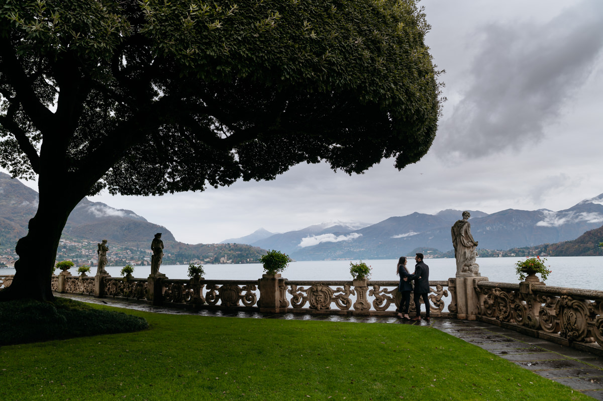 How to plan a wedding proposal on Lake Como