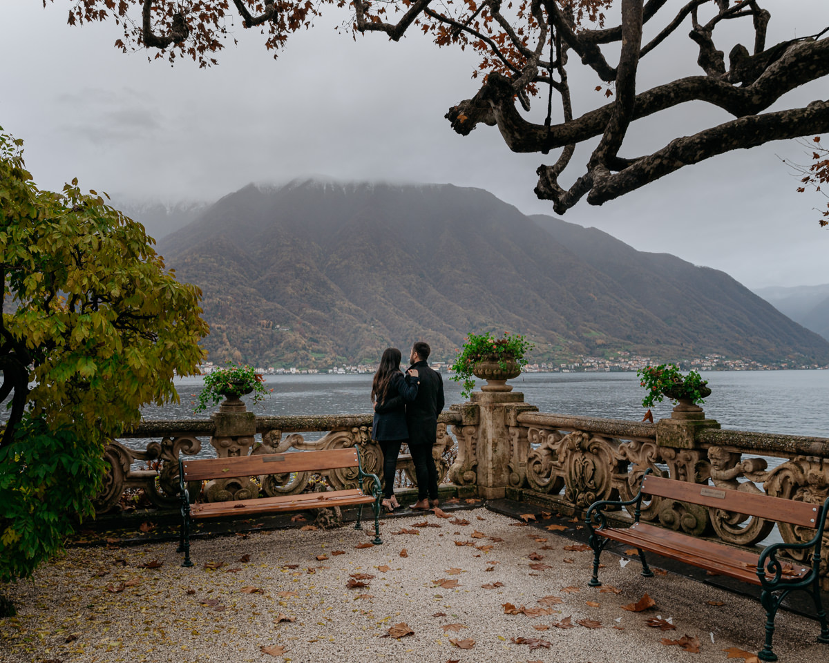 best spot where to get married in Lake Como